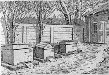 The first spring works in the apiary