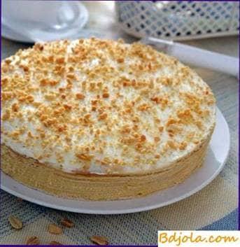 Medovik on sour cream
