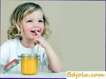 Honey to small children