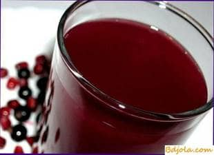 Black currant with honey