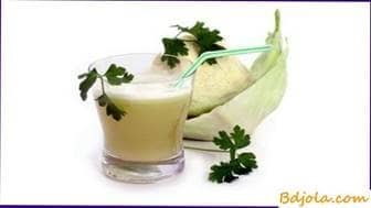 Cabbage juice with honey