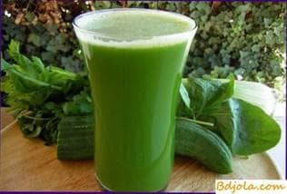 Celery juice with honey
