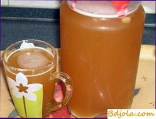 Petrovsky kvass with honey