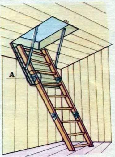 Folding stepladder