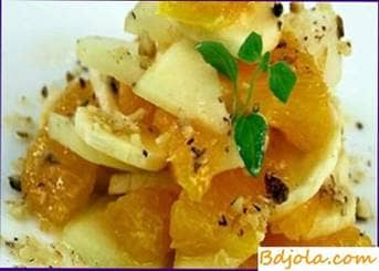 Recipes of fruits with honey