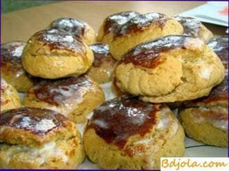 Pastel de miel de pan de jengibre