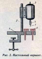 Cómo hacer una máquina de perforación para perforar marcos en una colmena