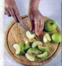 Pato con manzanas y miel