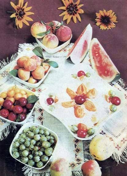Manzanas ahumadas con miel