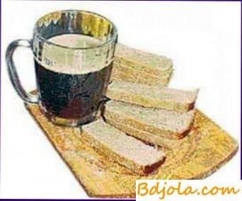 Cómo cocinar Ural kvas con rábano picante y miel