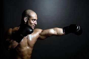 Maniquí para boxeadores