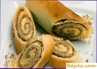 Roll con nueces y miel