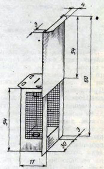 Клеточка для пчелиной матки