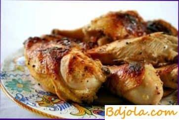 Цыпленок с медом