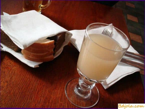 Медовый квас из ржаного солода