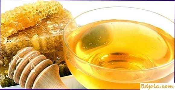 Желтково толоконно медовая маска