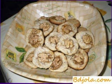 Орехово медовое печенье
