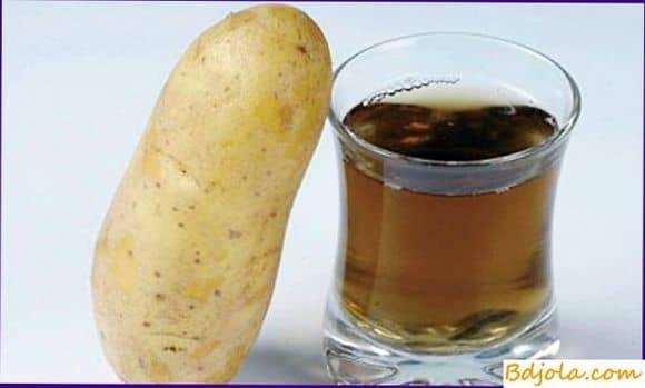 Картофельный сок с медом